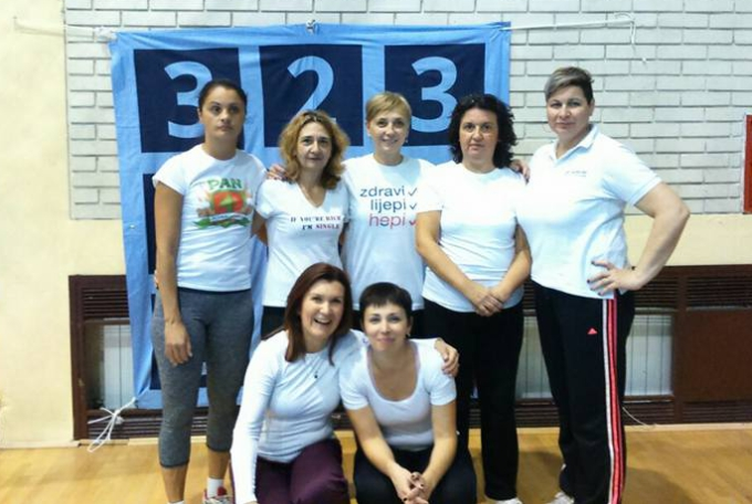 Brođanke prvi puta na Hrvatskom festivalu sportske rekreacije žena