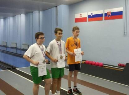 Sven Marić prvak RH U-14, Kata Matanić i Mario Mušanić pojedinačni prvaci Regije Istok