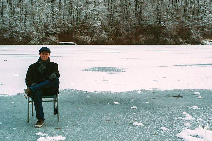 Na zaleđenom jezeru Petnja ali na svoju odgovornost kao i Neven