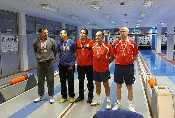 Jučer odigrano parovno prvenstvo županije u kuglanju