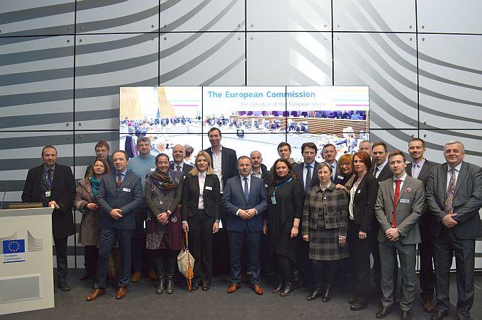 Među predstavnicima gospodarske zajednice u Bruxellesu i Jelena Ivaniš, članica upravnog odbra HOK- a i predsjednica županijske Obrtničke komore