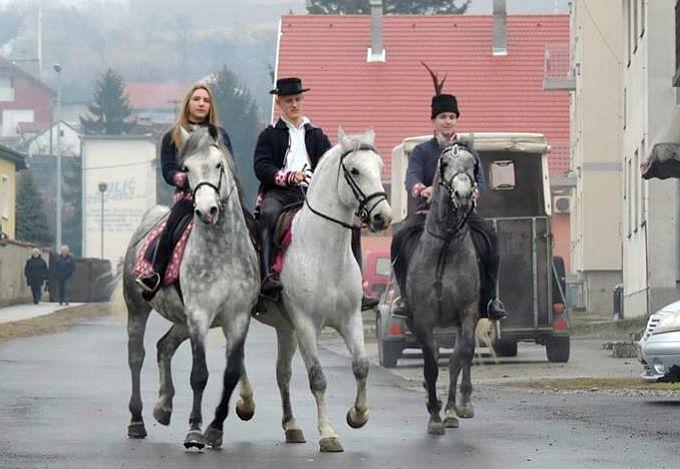 """Oriovcu za te svuda zna se, lipe cure i konji te krase"""