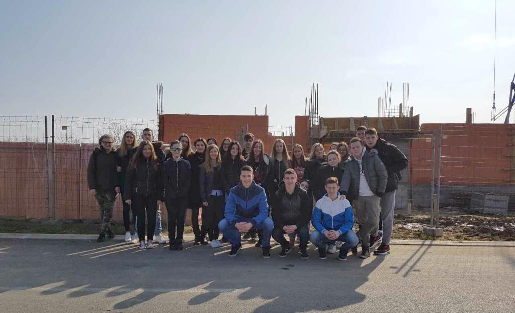 Učenje uz terensku nastavu, učenici Tehničke škole posjetili gradilište
