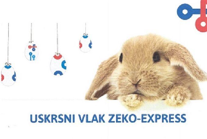 Dragi roditelji, bake i djedovi uskrsni vlak i Zeko- express nova avantura za vaše najmlađe