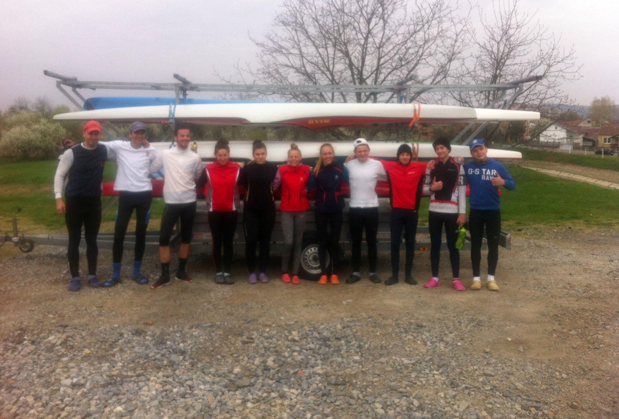 Sedam dana uoči nove kajakaške sezone ekipa Olimpika veslala od Slavonskog Kobaša do Slavonskog Broda