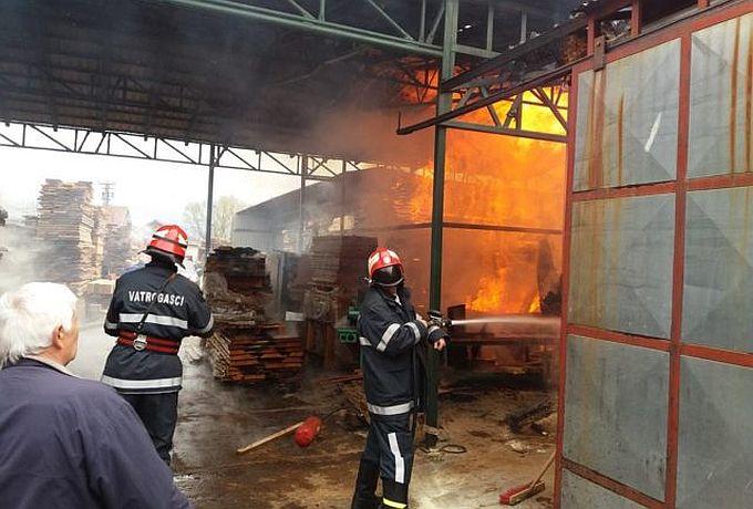 U Donjim Andrijevcima požar u prostorijama stolarskog obrta, u Gornjoj Bebrini izgorjelo obiteljsko imanje