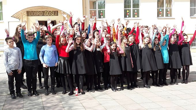 Nakon solističkih uspjeha, zlatna medalja i za Dječji zbor Glazbene škole