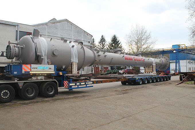 Industrijska rješenja isporučila dvije posude pod tlakom teške 62 tone