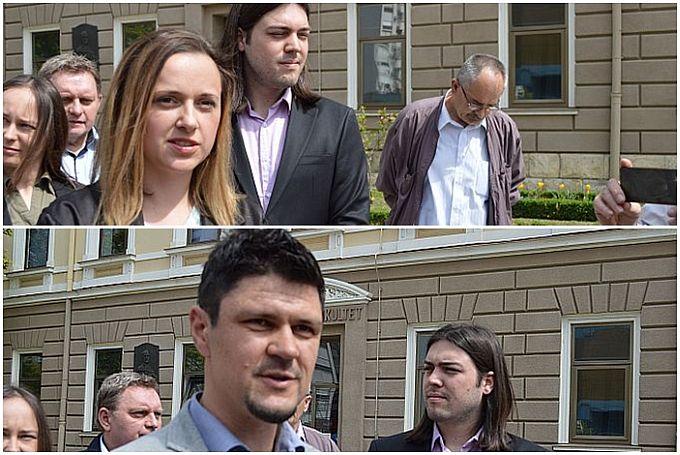 Maja Validžić i Tomislav Vidošević mladi Brođani koji ispred Živog zida kreću u utrku za gradonačelnka i župana