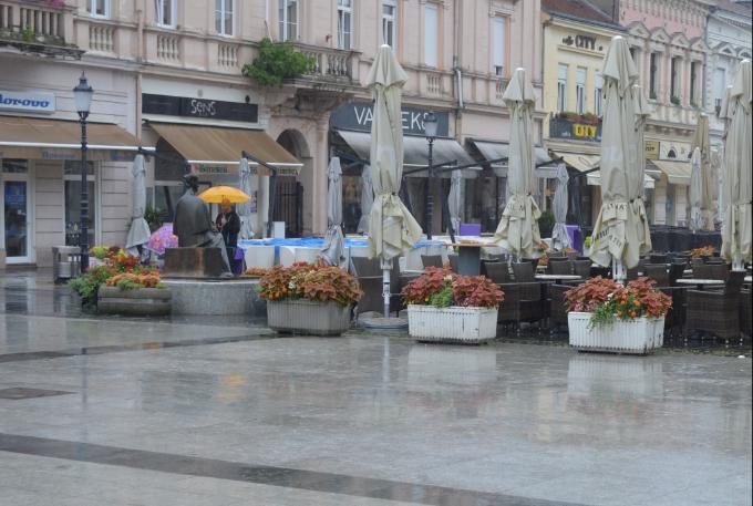 Temperatura zraka u Slavonskom Brodu iznosi 10 stupnjeva, danas maksimalna 15