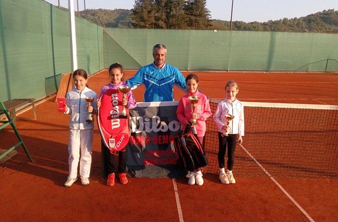 Mladi slavonskobrorodski tenisači ostvarili odlične rezultate na turniru u Požegi