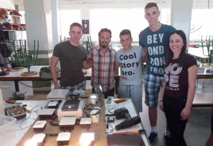 46 učenika Tehničke škole iz Slavonskog Broda  i 5 nastavnika pratitelja dva tjedna u Španjolskoj