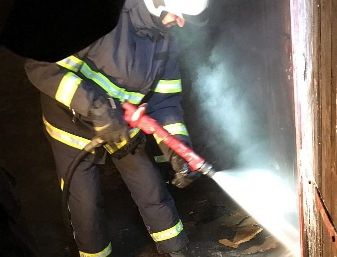 Požar noćas iza dva sata u centru grada, gorio San Marco