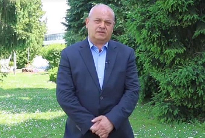 Zahvala biračima na podršci kandidata za gradonačelnika Mirka Duspare