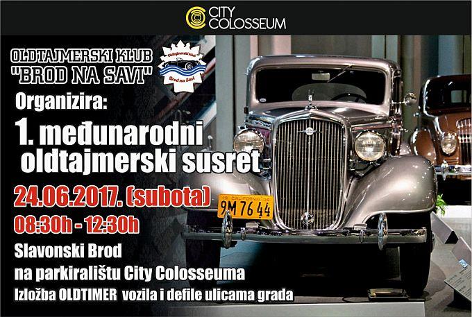 1. Međunarodni oldtajmerski susret 24.6. u City Colosseumu
