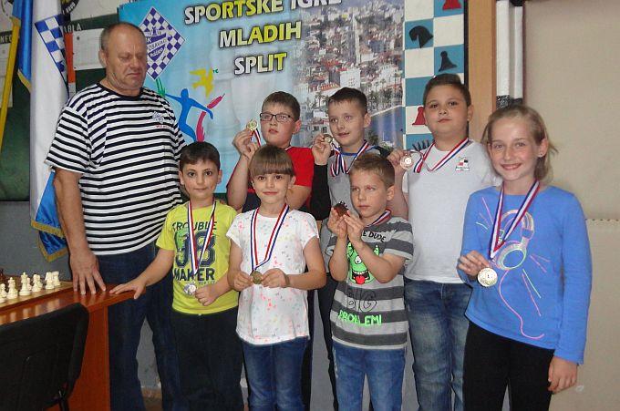 Mladi šahisti putuju u Split na Sportske igre mladih