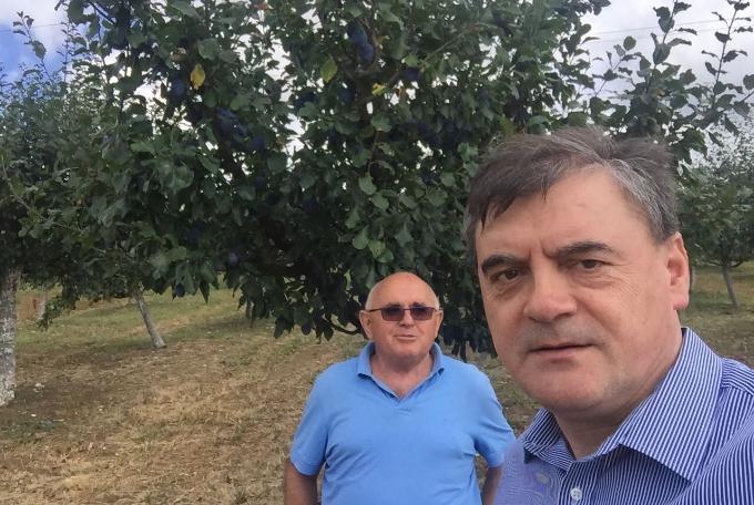 Najaktivniji saborski zastupnik Brodsko- posavske županije i ljeti radno, u obilasku poljoprivrednih proizvođača