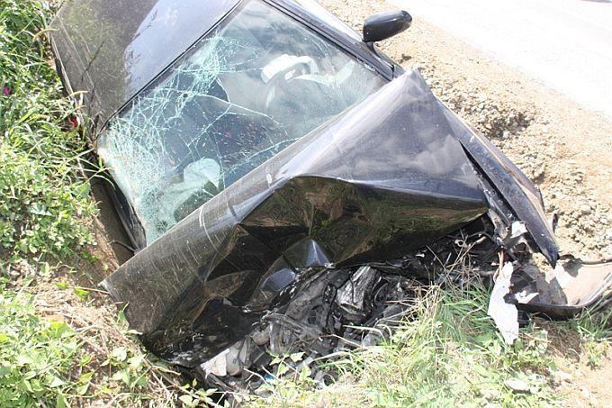 Prometna nesreća s teško ozlijeđenom osobom