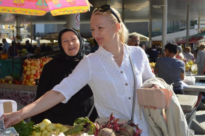 Gradska tržnica danas