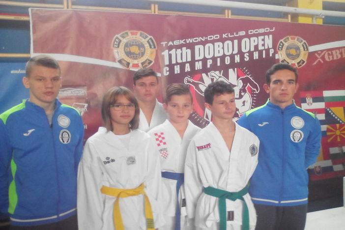 """TKD  """"Alfa"""" izvrsni na """"ITF DOBOJ OPEN 2017."""""""