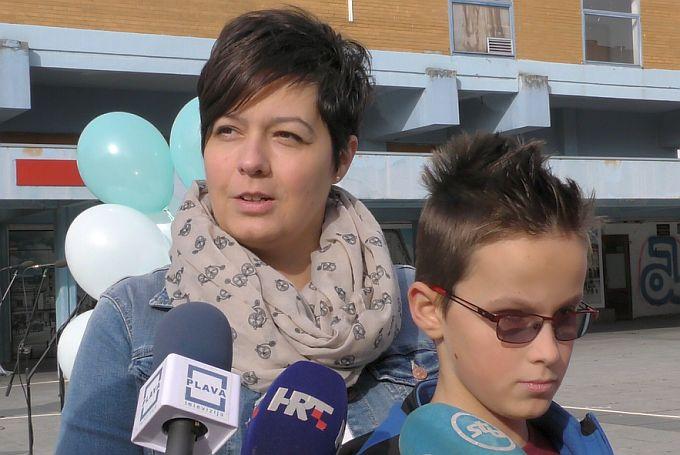 Senka Perković: Dvoje djece ide u Glazbenu školu, Ivan koji je slijep, i njegov seka dobili su piano