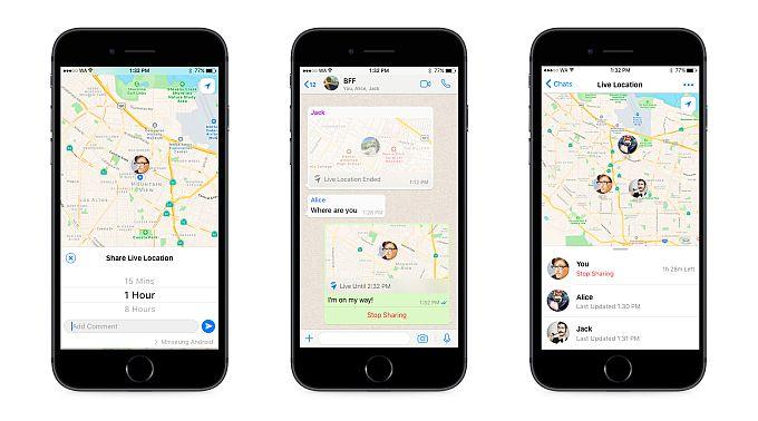 WhatsApp je uveo opciju preko koje uživo možete pratiti lokaciju prijatelja u vašem chatu ili grupi