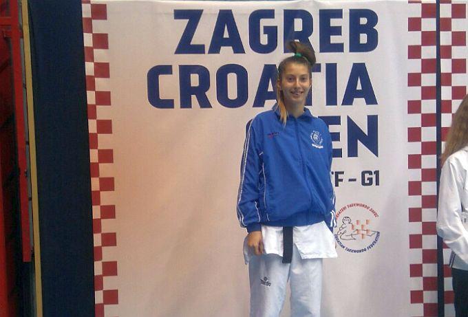Lucija Abramović opet opravdala povjerenje trenerice i osvojila drugo mjesto s dobivene četiri borbe