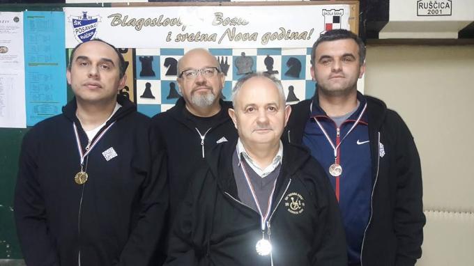 """Prvokategornik  Zoran Ivanović osvojio šahovski turnir """"sv. Lucija 2017."""""""