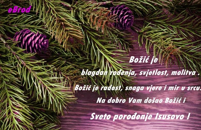 Sretan i blagoslovljen Božić !