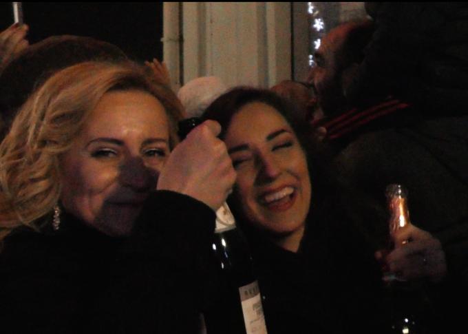 Sinoć na dočeku veselo, Nova 2018. čekala se uz šampanjac i vatromet
