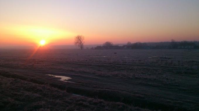 Trenutno mjerimo 0 stupnjeva Slavonskom Brodu, želimo vam dobro jutro