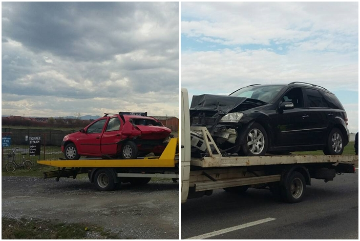 U prometnoj nesreći na Sjevernoj veznoj cesti sudjelovala dva automobila, promet regulirala policija
