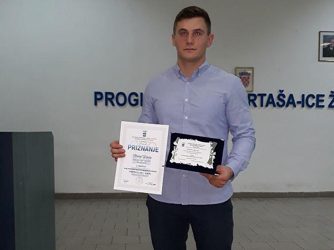 Brođanin Marin Lipovac vratio se iz Metkovića kući, upisao je fakultet, nastavlja s treninzima i poslom u policijskoj postaji