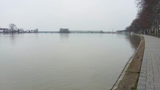 Jutros mjerimo -2 stupnja, vodostoj rijeke Save iznosi 844 cm