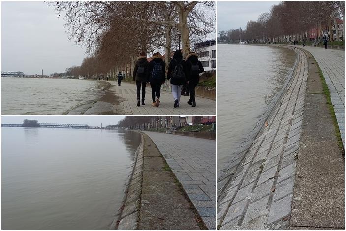 Na Svjetski dan voda Sava pokazala moć, u Slavonskom Brodu vodostaj u 20 sati 846 centimetara