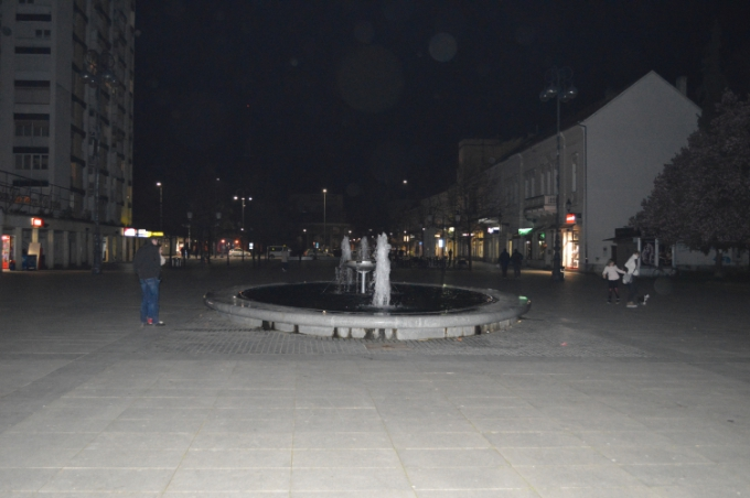 Centar grada u mraku punih sat vremena