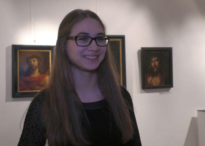 Svoju budućnost, mlada, slavonskobrodska sopranistica, Sandra Böhm vidi na pozornicama