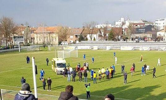 Prekinuta utakmica Marsonije i Slavonije, na terenu preminuo Bruno Boban
