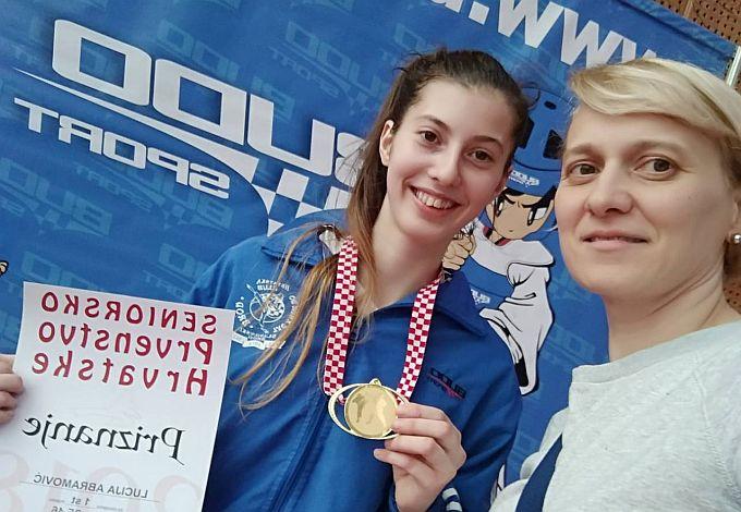 Na državnom prvenstvu Lucija Abramović postala seniorska državna prvakinja