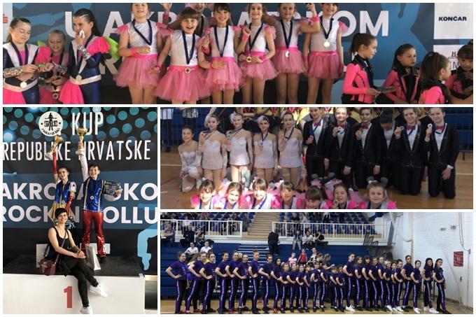 S natjecanja na 2. Kupu Hrvatske u akrobatskom rock'n'rollu, Top dance se naravno vratio s odličjima
