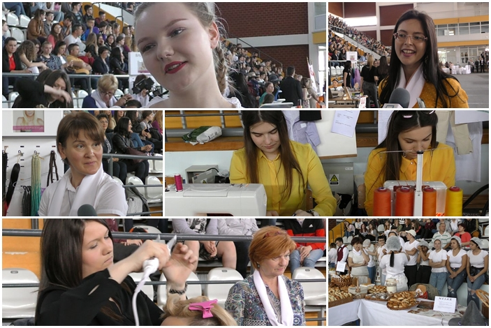 Antonela će biti kuharica, Andreja krojačica, znaju da su poslovi teški, ali u njima uživaju