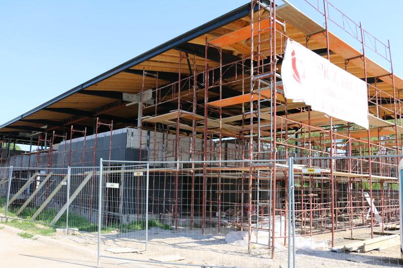 Napreduj radovi na budućem prostoru za kajak-kanu klubove