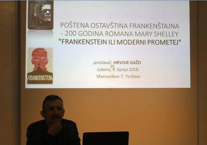 """U Slavonski Brod SF konvencija """"Marsonikon 2018."""" dovela Frankensteina, vampire, zombije"""