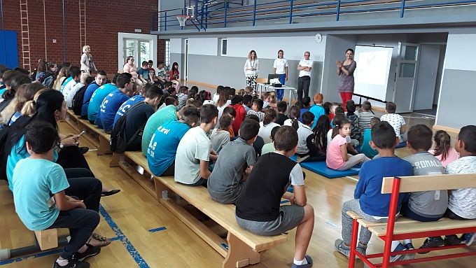 Učenici OŠ Hugo Badalić saznali više o kajaku i radu KKK Marsonia, uskoro ljetna škola