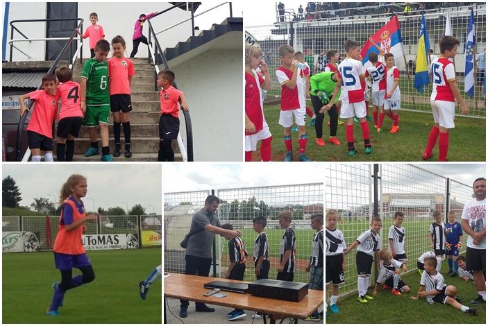 Na velikom međunarodnom turniru u Slavonskom Brodu okupljeno oko petsto djece, malih nogometaša i nogometašica