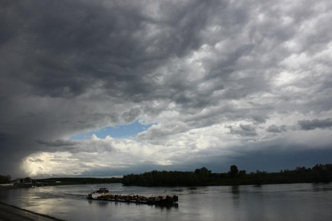 Već sedmi dan prognoza najavljuje pljuskove i grmljavinu u Slavoniji
