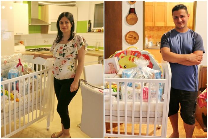 Roditeljima pomoć od 5 tisuća kuna i te kako dobro dođe, još četiri brodske obitelji dobile vrijednu opremu za bebice