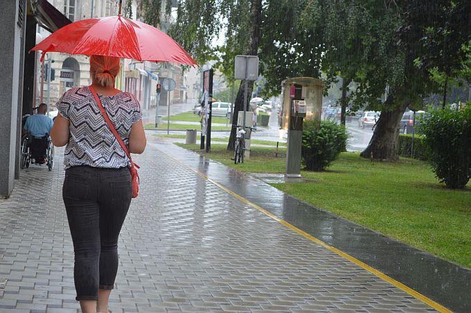 Vremenska prognoza  danas za naše krajeve najavljuje sunčano uz povremenu kišu