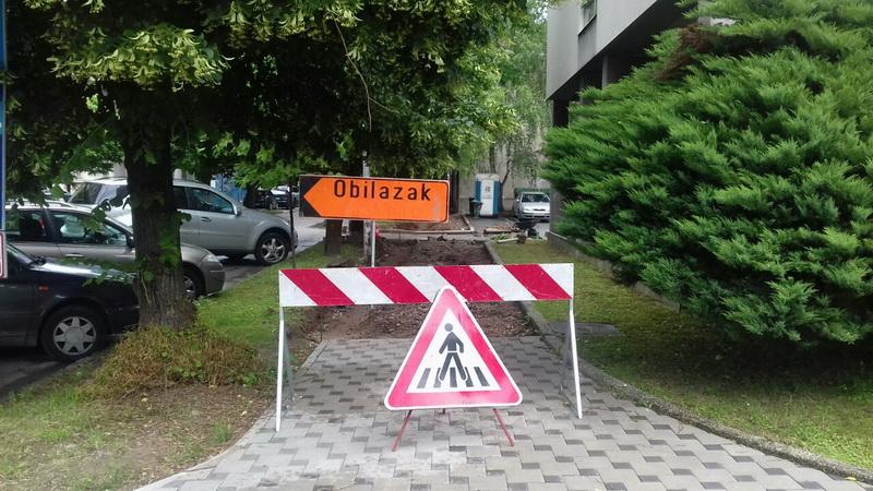 Uskoro radovi na izgradnji pješačkih staza na području grada
