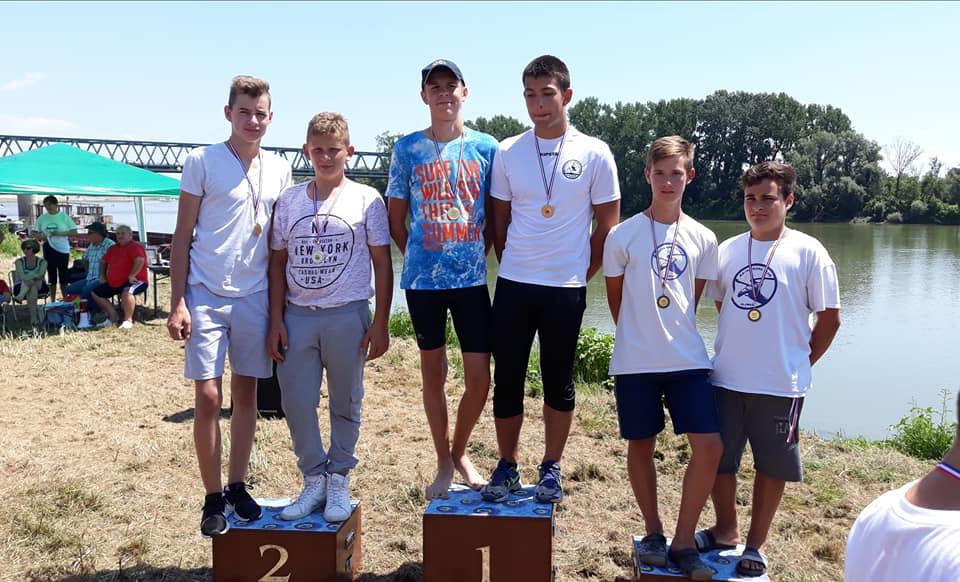 Sportašima Marsonije 6 zlata na 3. utrci Kupa RH u Slavonskom Brodu